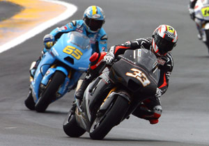 Marco Melandri finished higher than both Casey Stoner and Nicky Hayden of his former team, Ducati Marlboro.