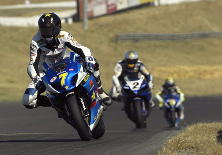 Suzuki's winning streak ended in Race One at Infineon Raceway, but a new streak may have started in Race Two.