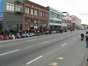 I hope you love scooters...
