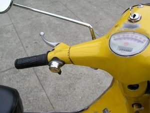 Speedometer reads 30 pretty much all the time. But it does it with style.