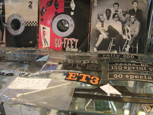 What kind of funk fits a '66 Vespa Sprint?