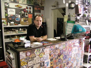 "Barry Gwin: ""We like to have a scene; a hang-out."""