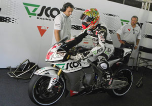 Gabor Talmacsi will make his MotoGP debut in Spain.