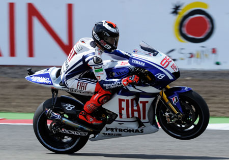 Jorge Lorenzo is in full control, leading the championship by 37 points.