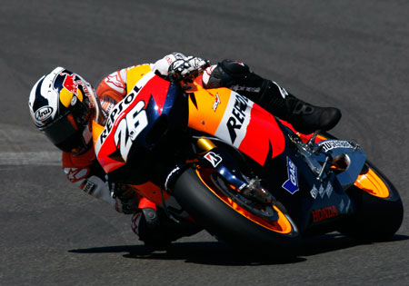 Better go knock on wood, Dani Pedrosa.