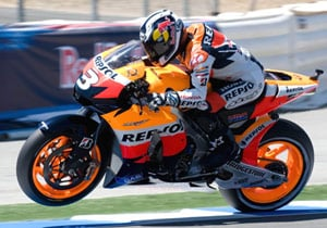 Laguna Seca winner Dani Pedrosa will have a new Honda engine at his disposal in Germany.