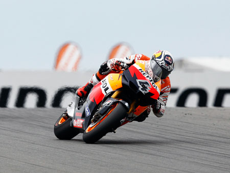 Poor Andrea Dovizioso. Despite being consistently good, he may find himself squeezed out of the Repsol Honda team by more notable teammates Casey Stoner and Dani Pedrosa.