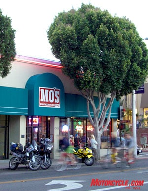 While in San Luis Obispo, we decided to open a satellite office for MO.
