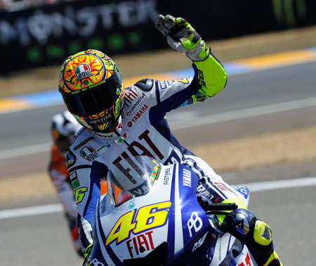 Raise your hand if you're riding a Ducati next season.