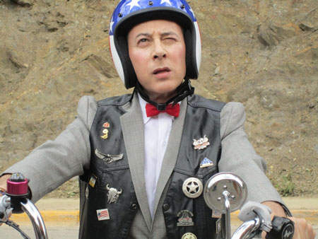 I'm a loner, Dottie...a rebel. Photo courtesy of Pee-wee Herman's Facebook page.