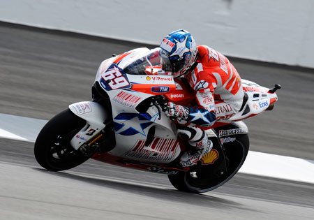 Nicky Hayden will try to keep his Indianapolis podium streak intact.