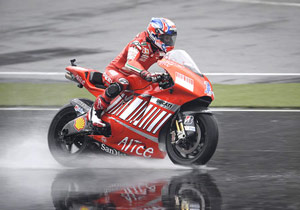 Casey Stoner won't be in this weekend's race, and hopefully, neither will last year's hurricane.