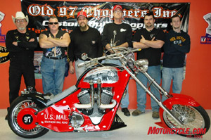 The heart and soul of Old 97 Choppers. It's a family business.