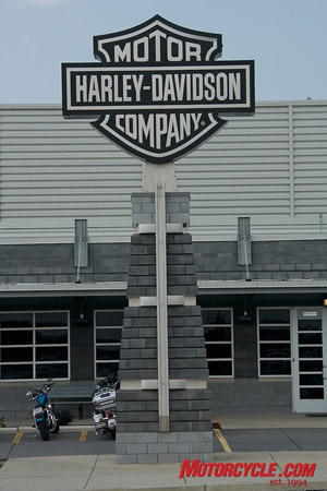 Though Harley is feeling the pinch of a tightening U.S. economy, to the tune of laying-off more than 700 unionized and non-unionized employees in coming months, the company still holds a 48% stake in the heavyweight (651cc+) market.