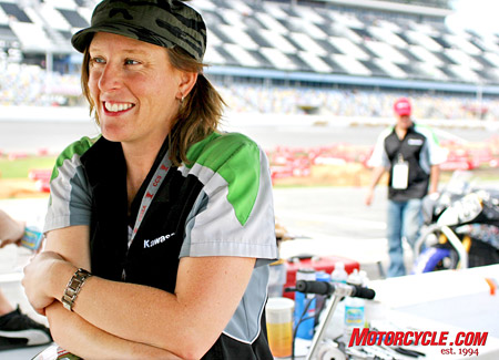 Canadian Misti Hurst discusses her outlook for her first full season in the AMA Supersport Championship.