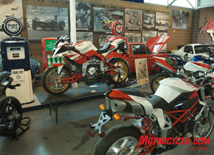 Nearly $150K worth of Bimota trickness in this photo.