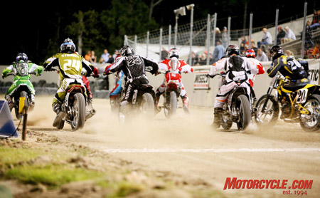 Flat-track racing is one of the first AMA series that Roger Edmondson and Daytona Motorsports Group would like to focus on, helping the series reach its competitive and spectator potential.