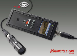 This all-in-one point-of-view camera looks to be ideal for capturing all your motorcycle exploits on video.