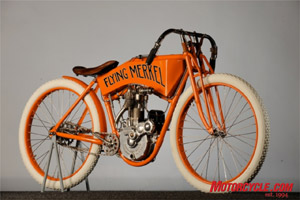 1911 Flying Merkel. This beauty is sure to fly out the door at auction!