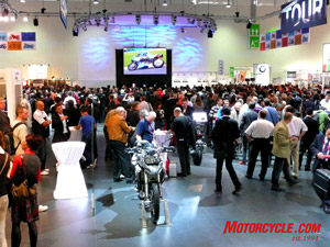 Intermot in Germany is one of the biggest bike shows in the world.