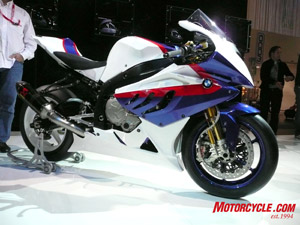 BMW's new Superbike contender, the S1000RR.