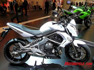 Kawi�s ER6 is one of Yossef�s favorites.