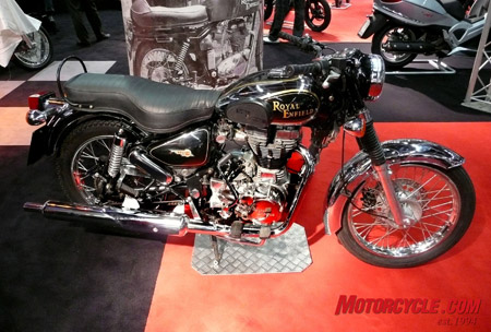 A unit-construction Royal Enfield � from India!