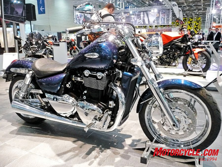 New Triumph Thunderbird cruiser.