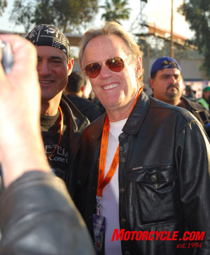 Peter Fonda has been there from the beginning