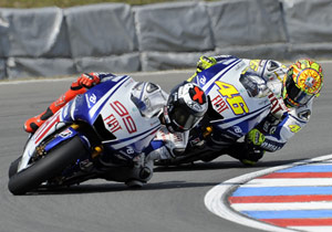 Jorge Lorenzo has no room for error in his title fight with Valentino Rossi.
