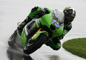 Kawasaki's Anthony West recorded the top time in the free practice session.