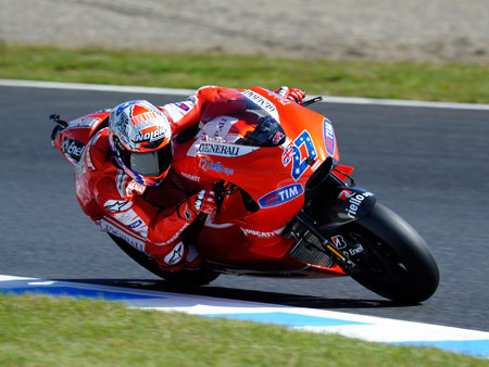 Casey Stoner was victorious at Motegi last year with Ducati. Honda hopes he'll change the manufacturer's luck at its home race this year.