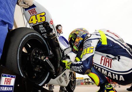 Valentino Rossi is hinting at missing the final two rounds to undergo surgery for his shoulder.