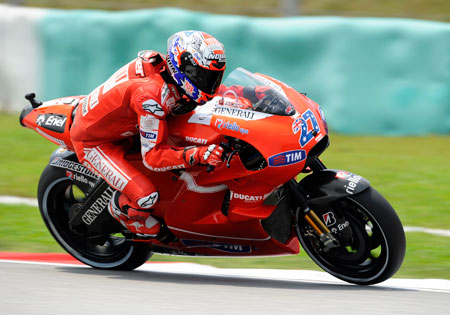 The winner of the past three Phillip Island races, Casey Stoner again figures to be a favorite to win on his home track.
