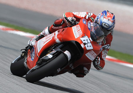 Another fourth place finish in Sepang dosn't sound too bad to Nicky Hayden right now.