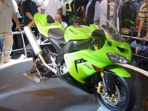 The Kawi ZX10.