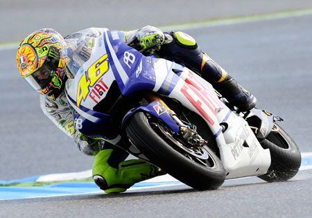 The Valencian Grand Prix marks an end of an era as Valantino Rossi enters his final race with Yamaha.
