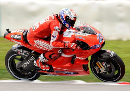 The Valencia race will also mark the end of Casey Stoner's tenure with Ducati.