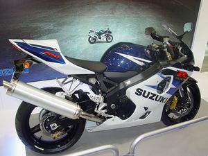 The GSXR 750.