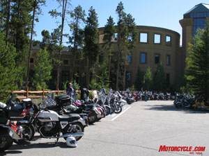 Colorado's Rocky Mountains was the setting for the 2009 AMA International Women and Motorcycling Conference.