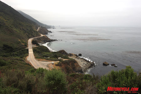 The Pacific Coast Highway. Just part of the commute to the Red Bull USGP!