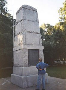 The Trail of Tears Monument