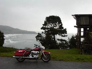 EBass is at his best when writing about his solo motorcycle touring adventures.