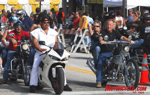 Sportbikes and cruisers come together at Daytona Beach for the fall pilgrimage of Biketoberfest.