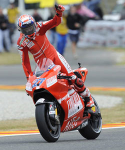 What's up with Casey Stoner?