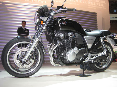 Here's yet another cool motorcycle American riders won't be able to buy, the new retro-themed CB1100.