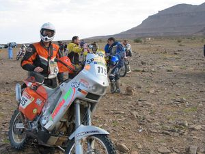 Charlie dreamed of competing in the Dakar for at least 20 years