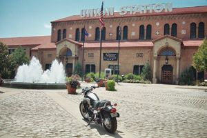 Union Station houses Browning Firearms Museum, a vintage car exhibit, and the Museum of Natural History.