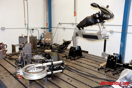 Buell uses state-of-the-art technology in its extensive testing procedures.