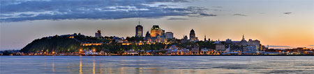 Quebec City offers a stunning skyline.